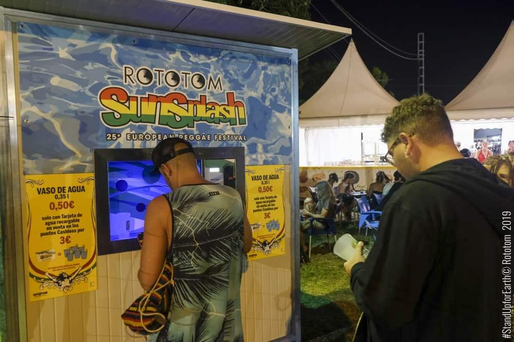 Casas del Agua para el Festival Rototom