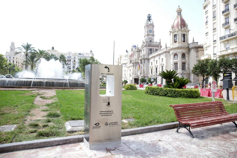 Fuentes de agua refrigerada a Valencia - Ecozona Iberian